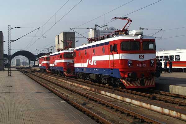 Lokomotiva MŽ 442, Makedonija
