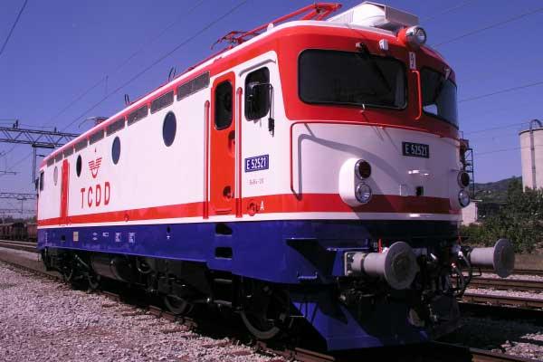 Lokomotiva TCDD E52521, Turska