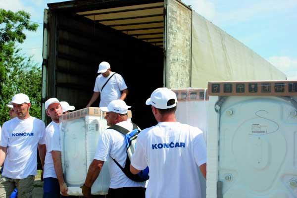Pomoć poplavljenima u Slavoniji