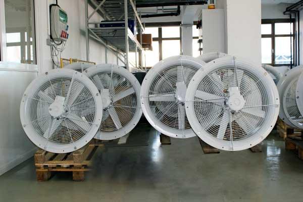 Aksijalni ventilatori za hlađenje transformatora
