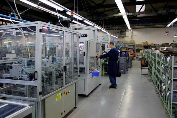 Proizvodnja sklopnih aparata