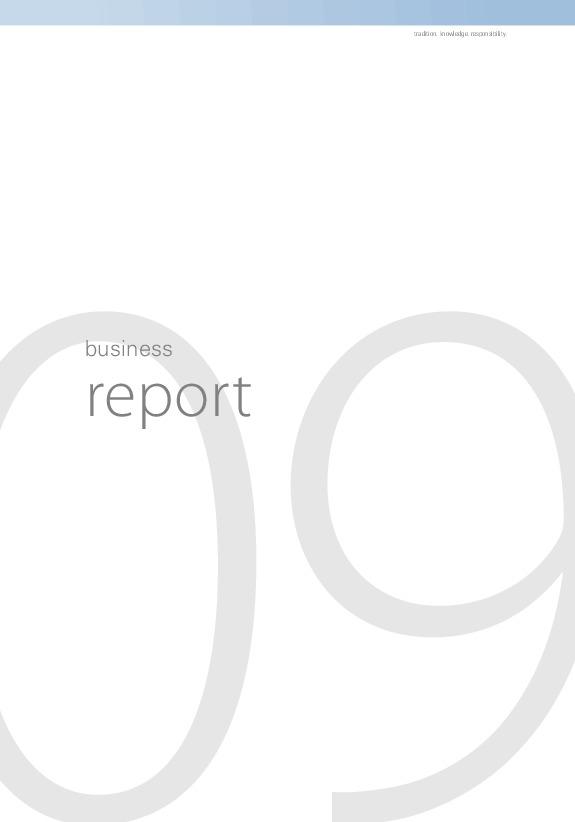 Annual report 2009.