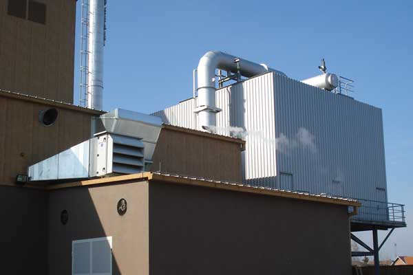 Kogeneracijsko postrojenje na bazi izgaranja drvne biomase