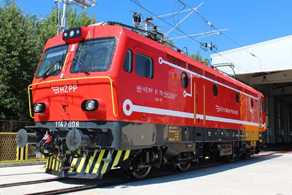 Modernized locomotive 1142 for HŽ Passenger Transport, Croatia