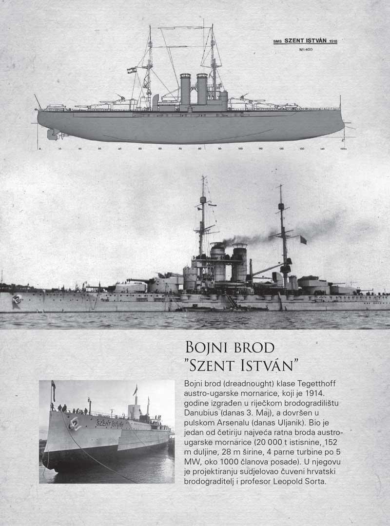 """Bojni brod """"Szent Istvan"""""""