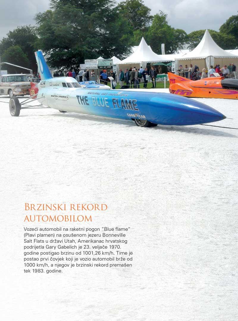 Brzinski rekord automobilom