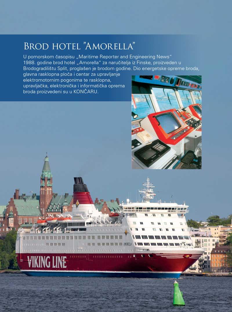 "Brod hotel ""Amorella"""