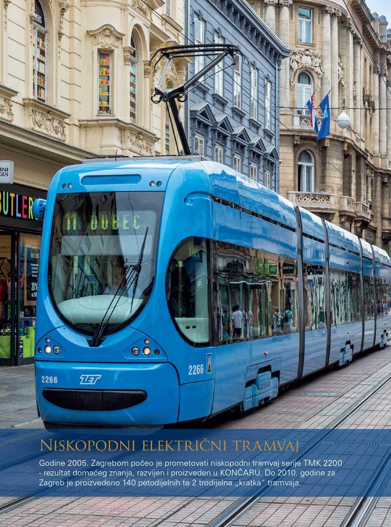Niskopodni električni tramvaj