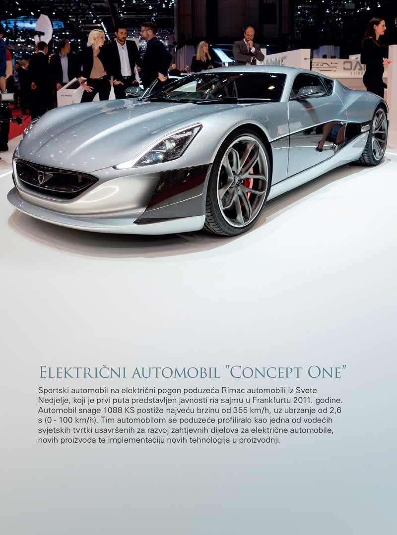"Električni automobil ""Concept One"""