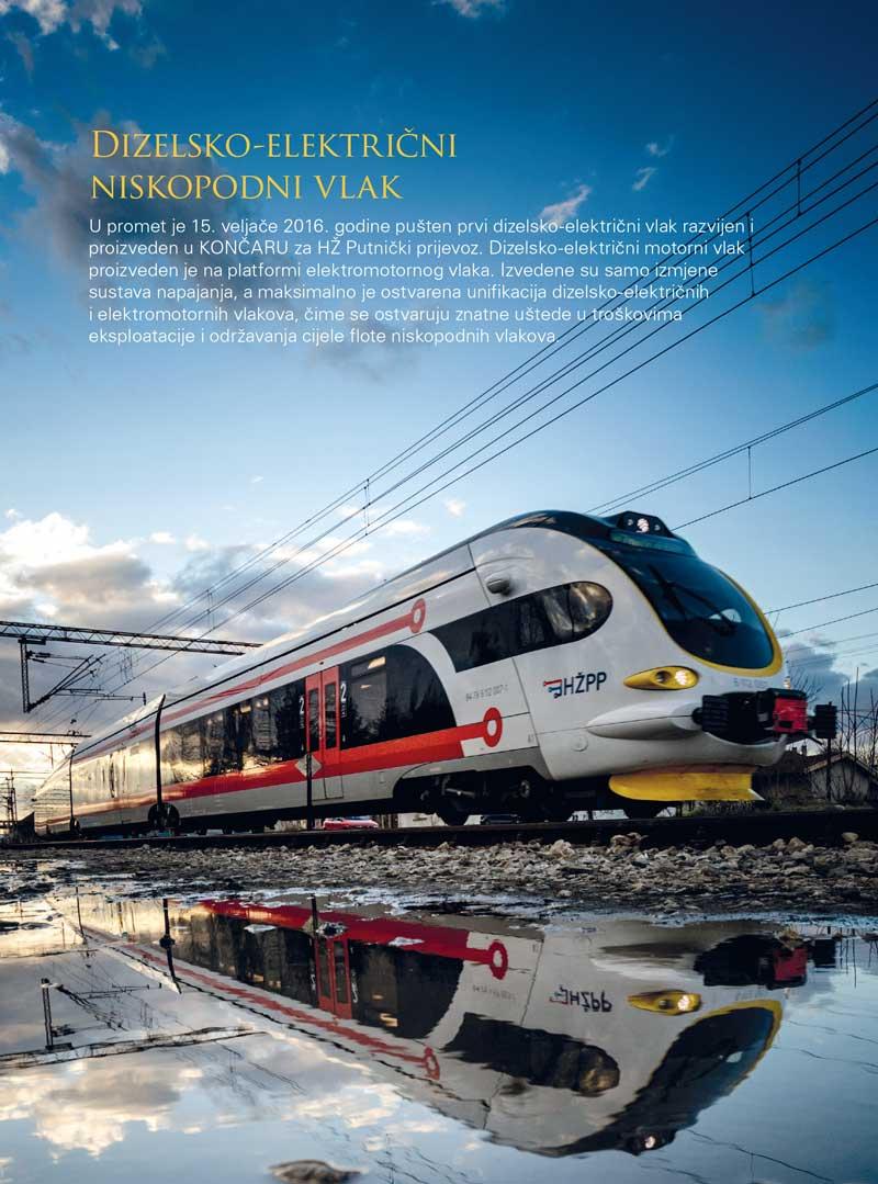 Dizelsko-električni niskopodni vlak