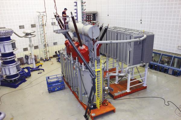 Офшорные трансформаторы за ветро электростанцию на Северном море