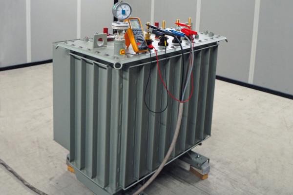 prototype of a 400 kVA distribution transformer