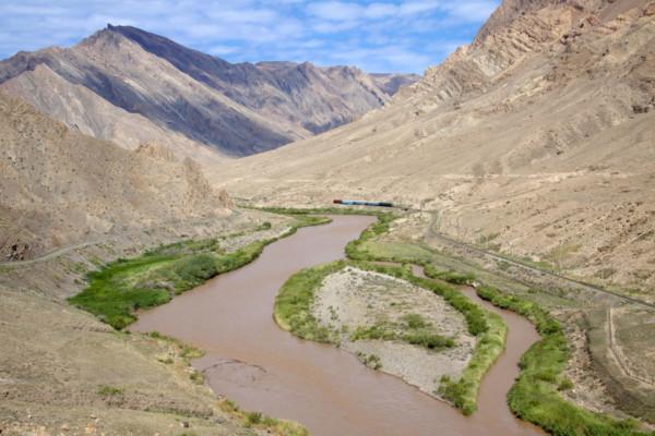 rijeka Aras, Iran