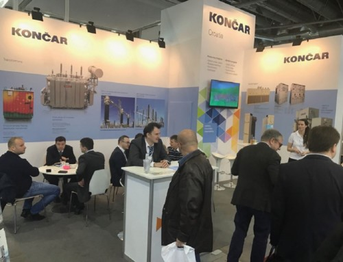 KONČAR sudjeluje na Međunarodnom sajmu Amper u Češkoj