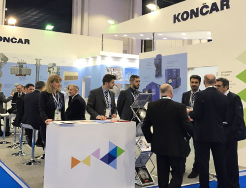 KONČAR takes part in the Middle East Electricity fair in Dubai