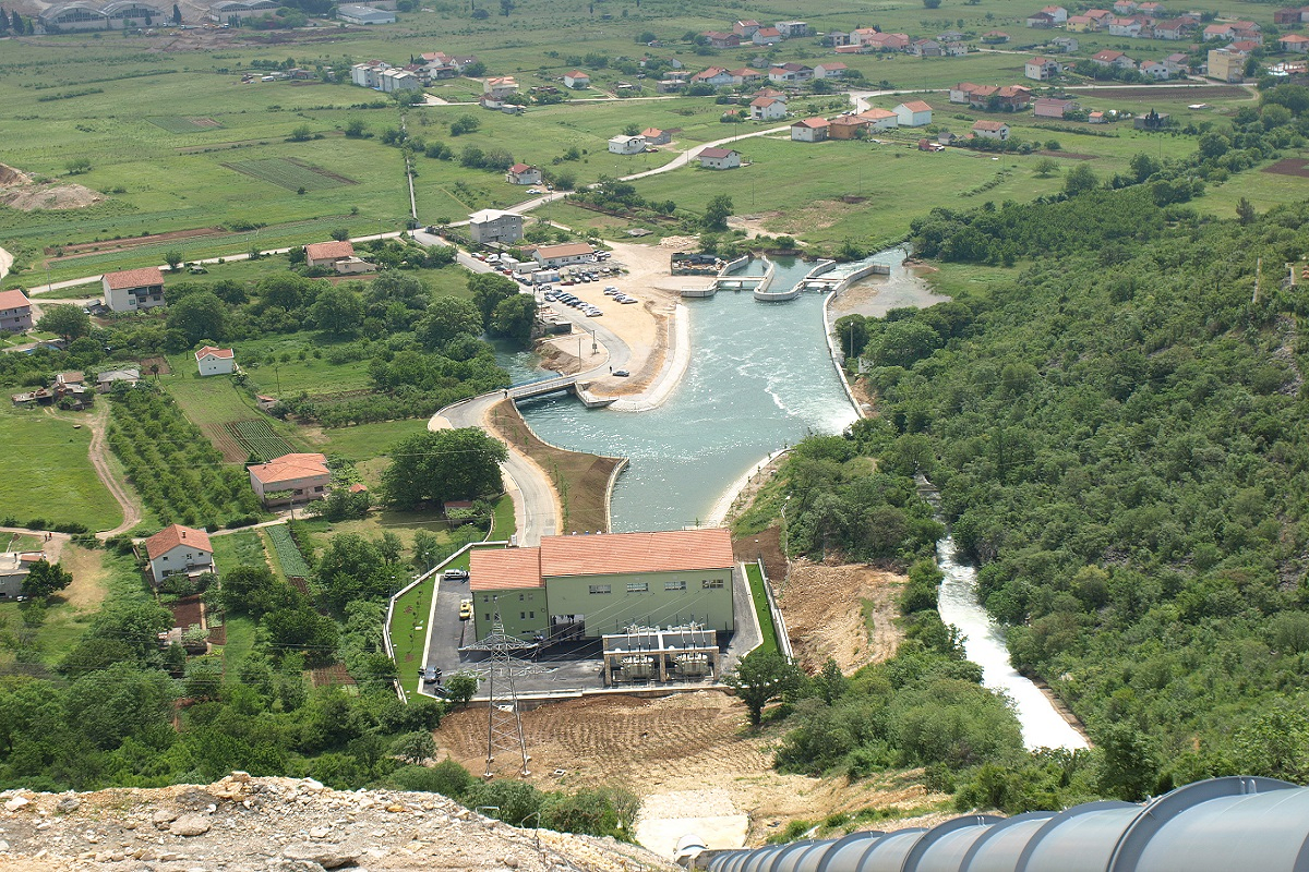 Hydro Power Plant Mostarsko blato in Bosnia and Herzegovina