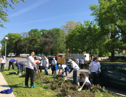 KONČAR EMPLOYEES VOLUNTEER FOR EARTH DAY