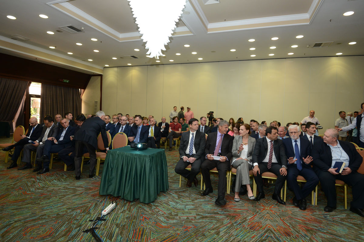 Business meeting held in Skopje