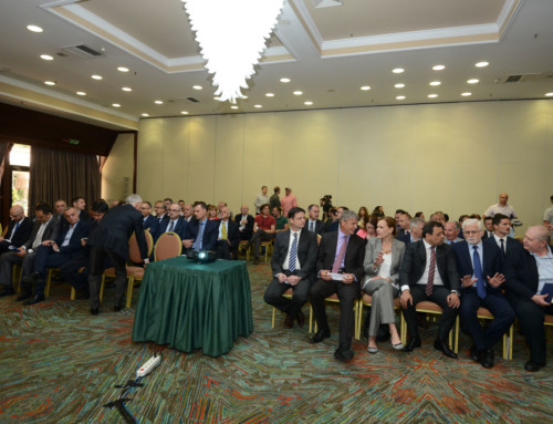 A successful business meeting held in Skopje