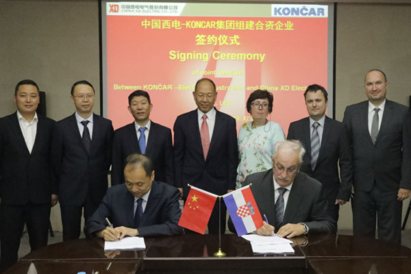 KONCAR signed The Joint Venture Shareholders' Agreement