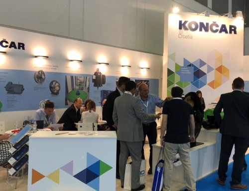 KONČAR at the CWIEME fair in Berlin
