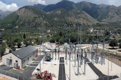 КОНЧАР, трансформаторная подстанция Химаре в Албании
