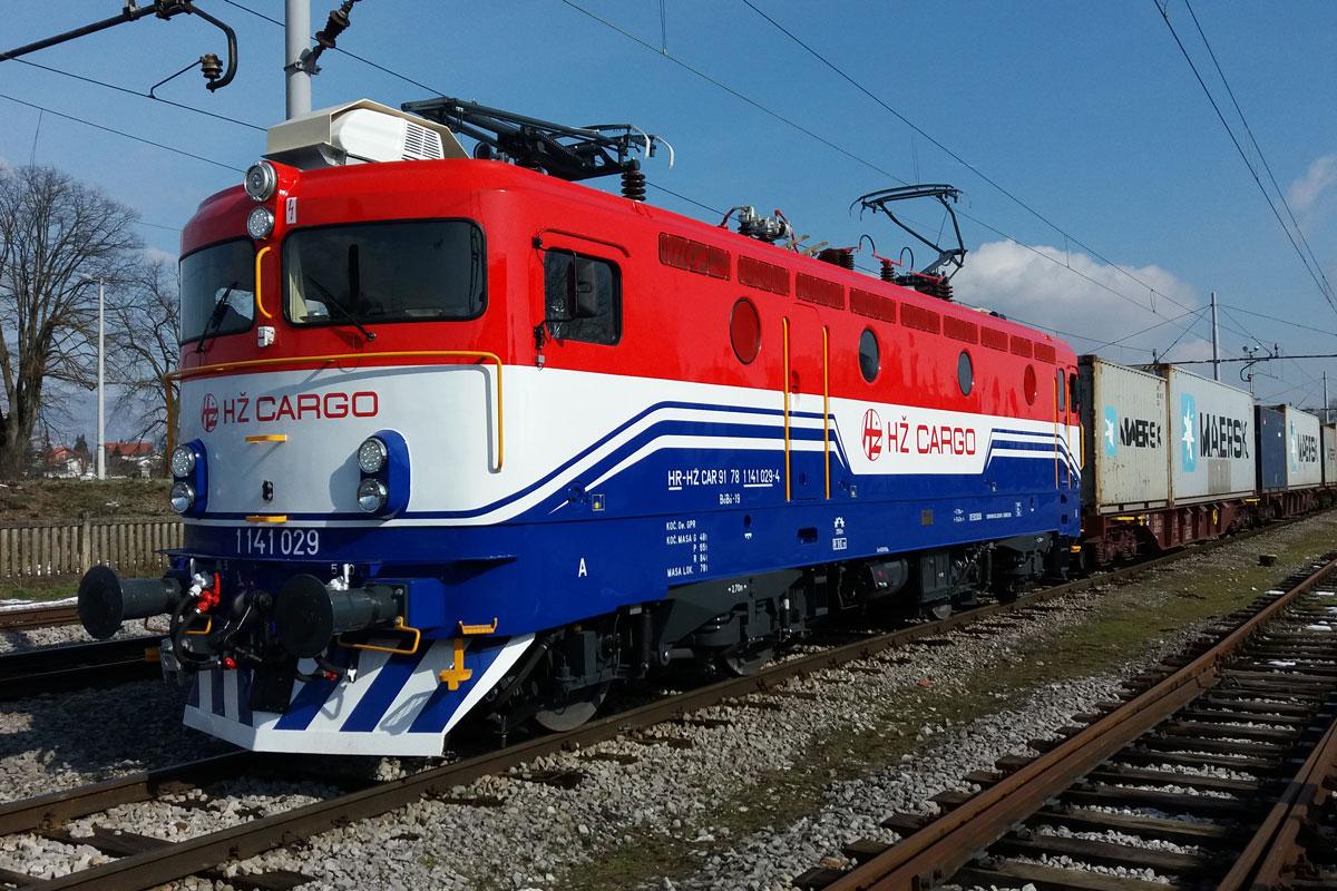 HŽ CARGO locomotive