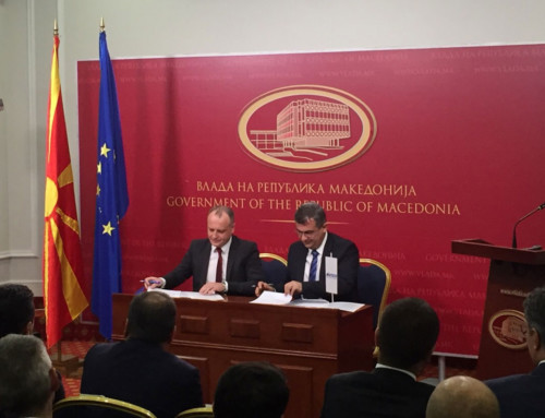 KONČAR – Power Plant and Electric Traction Engineering Inc. concluded contracts for projects in Macedonia