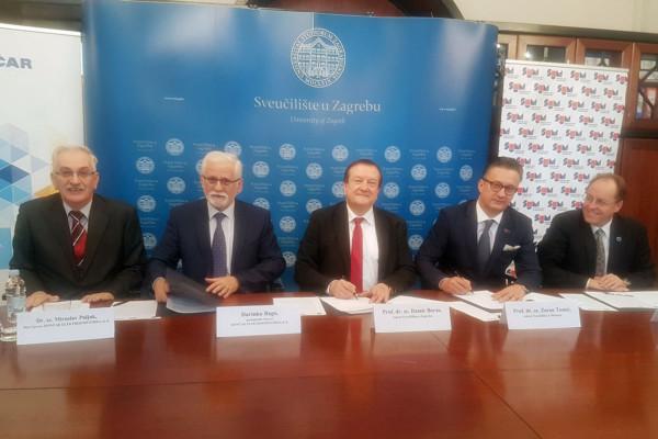 Соглашение о сотрудничестве между Университетом в Загребе, Университетом в Мостаре и КОНЧАРОМ