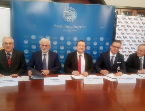Potpisan Sporazum o suradnji između Sveučilišta u Zagrebu, Sveučilišta u Mostaru i KONČARA